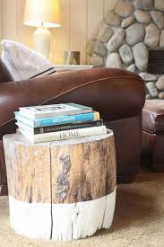 Tree Stump Side Table Trunk Coffee Tables And Side Tables You Should See Today