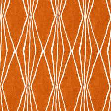Tangerine Home Decor Tangerine Upholstery Fabric Orange White Curtain Material