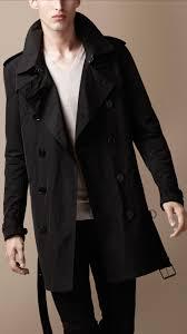 burberry brit men packaway showerproof trench coat men s fashion