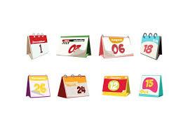 Small Desktop Calendar Free Free Desktop Calendar 2018 With Soft Colour Template Illustration