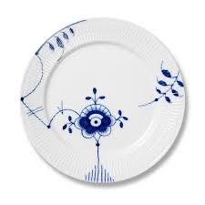 royal copenhagen blue fluted mega dinner plate 6