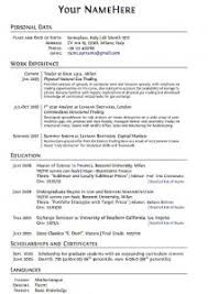Sample Of Work Resume by Examples Of Resumes 79 Breathtaking How To Structure A Resume