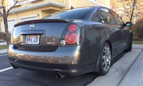 2005 altima tail lights for sale nissan se r altima with custom grill bodykit intake
