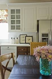 kitchen different color kitchen cabinets cottage kitchens dream