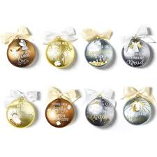 coton colors the birth of ornament series set of 8