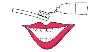 how to draw smile mouth toothbrush coloring pages nursery rhymes