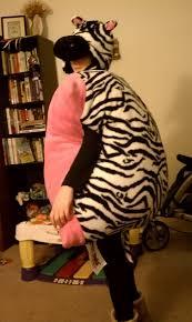 Halloween Costumes Zebra Halloween Costume Pillow Pet Zebra Craft Diy Ideas