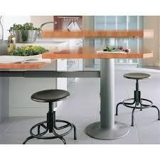 bartisch küche topmotion säulenfuß inkl teleskopierbarer wandstrebe