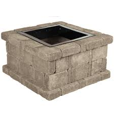 gray fire pits outdoor heating the home depot