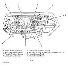 knock sensor location 2001 hyundai santa fe good day hope you