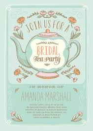 tea party bridal shower invitations bridal shower tea party clip 31