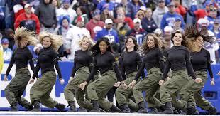 knicks city dancer halloween costume buffalo bills cheerleaders suspend operations