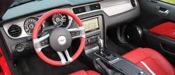 Mustang Interior Accessories 2013 Ford Mustang Gt Convertible Autoblog