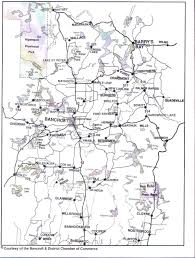 Algonquin Map Greater Bancroft Area Map Greater Bancroft Area Real Estate