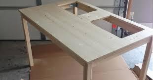 table cuisine ikea fait 2 trous dans une table de cuisine ikea idée est