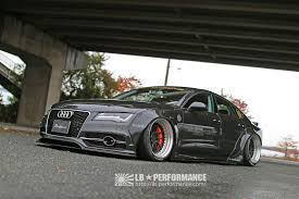 audi a7 kit liberty walk lb works kit audi a7 s7 the speed factory