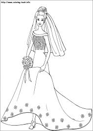 interesting free barbie coloring pages 15 in coloring pages online