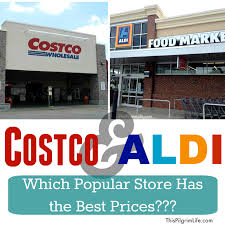 costco and aldi which popular store has the best prices this