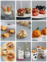 healthy halloween ideas fun food for halloween or classroom parties