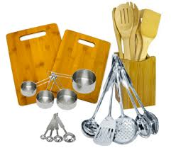 kitchen gift basket ideas bamboo cutting boards utensils and