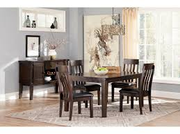 signature design by ashley haddigan rectangular dining room table