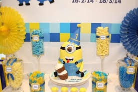 minions party ideas minions despicable me birthday party ideas photo 7 of 9 catch