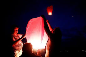 fireworks lantern sky lanterns are popular pretty and illegal in naples