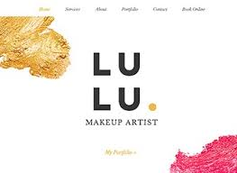 professional makeup artists websites professional makeup website template wix