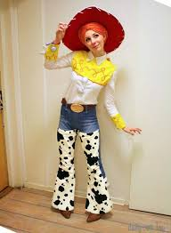 Cowgirl Halloween Costumes Adults Jessie Toy Story Series Toy Story Cosplay Toy