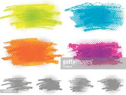 color paint strips vector art getty images