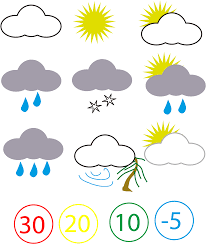 Weather Map Symbols File Weather Symbols Png Wikimedia Commons