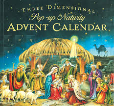 nativity advent calendar 3d pop up the nativity advent calendar babaluinc