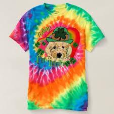 goldendoodle st patricks day t shirt