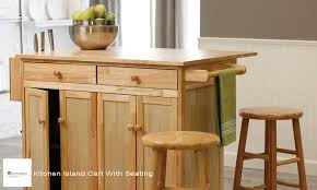 kitchen island with storage and seating kitchen island cart with seating feature post home dzn home dzn