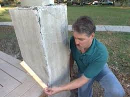 Front Porch Post Wraps by How To Build Stone Pillars How Tos Diy