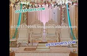 Wedding Stage Chairs Beautiful Design Wedding Mandap Stage Chairs Handmade Wooden