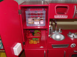 Kidkraft Kitchen Red - elegant kidkraft red retro kitchen taste
