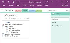 how you can use microsoft onenote for project management