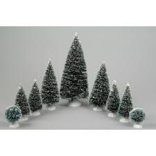 miniature christmas trees 9 assorted miniature christmas trees