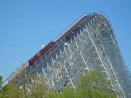 Six Flags Highest Ride American Eagle Rollercoaster Pinterest Amusement Parks