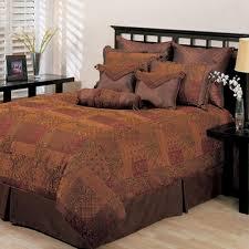 Western Bedding Laredo Comforter Bed Set Chocolate Image Of Madison Park Boone