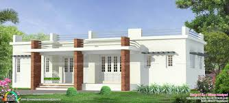 1476 sq ft flat roof budget home kerala home design and floor
