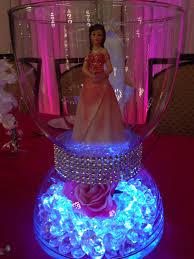 quinceanera table decorations centerpieces quinceañera centerpiece pinteres