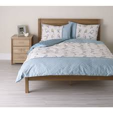 wilko ditsy duvet set bird double there u0027s no place like home