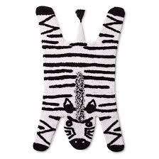 White Accent Rug Zebra Accent Rug Pillowfort Target