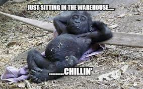 Warehouse Meme - meme creator just sitting in the warehouse chillin