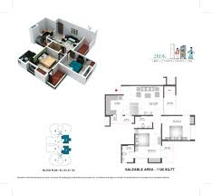2bhk House Plans Floor Plans Of Bharat City Indraprastha Yojana 9015523000