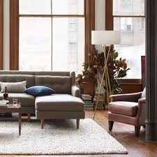 Tripod Floor Lamps Mid Century Tripod Floor Lamp Antique Brass West Elm Au