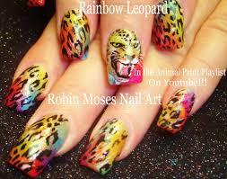 robin moses nail art zebra print nails