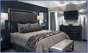 Bedroom Ideas Black Furniture Blue Pictures Incredible - Bedroom ideas for black furniture